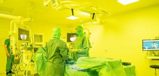 Farbige Beleuchtung für die Chirurgie