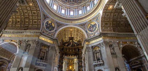 Petersdom erstrahlt in neuem Licht