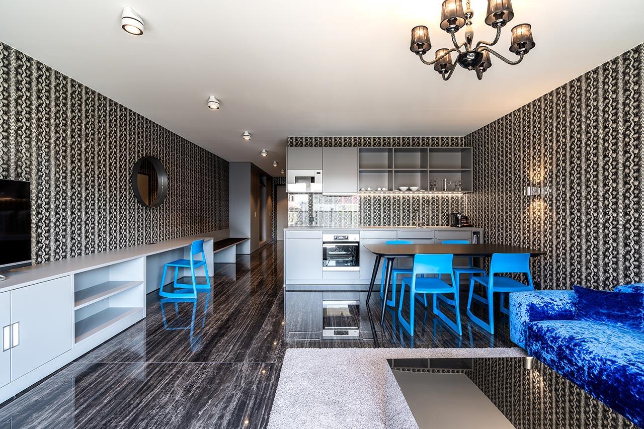Preisgekröntes Designhotel als Showroom