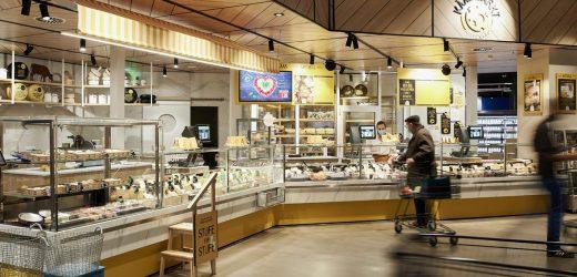 Beleuchtungssystem des neuen Edeka-Centers in Bremen